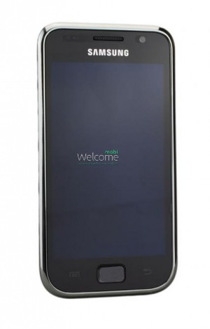Дисплей Samsung I9003 black with touchscreen with frame orig