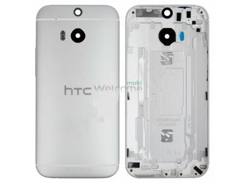 Задняя крышка HTC One M8 grey orig