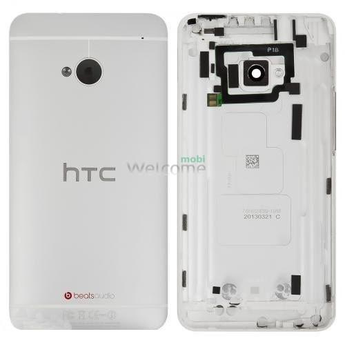 Задняя крышка HTC One M7 801 white orig