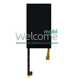 Сенсор HTC ONE M7 801e Single Sim black (с дисплеем) orig