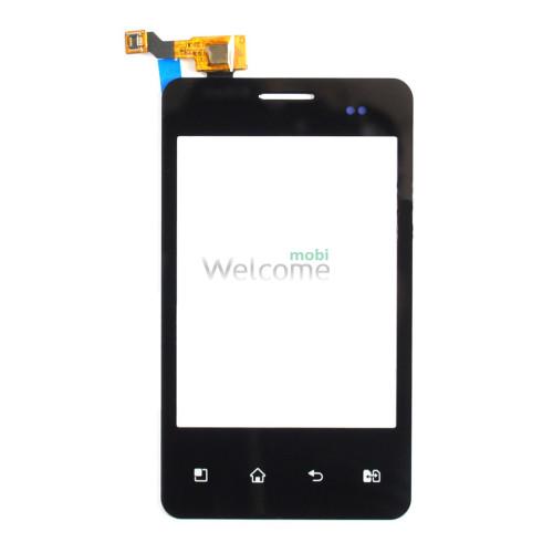 Сенсор LG E405 Optimus L3 black orig