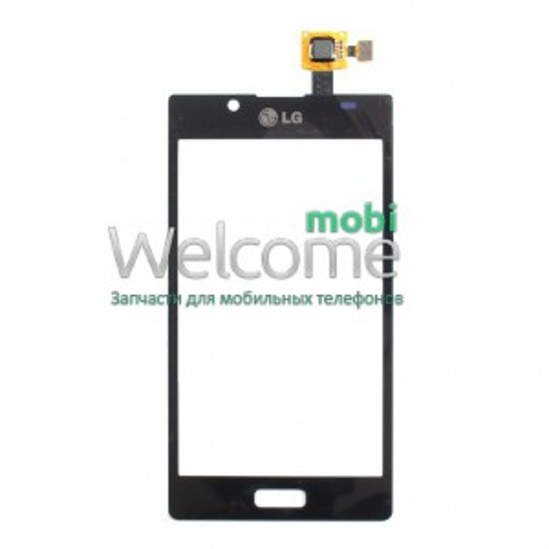 Сенсор LG E610,E612 Optimus L5 black orig