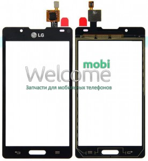Сенсор LG P713,P710 Optimus L7 II black orig