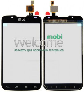 Touch Screen LG P715 Optimus L7 II black orig