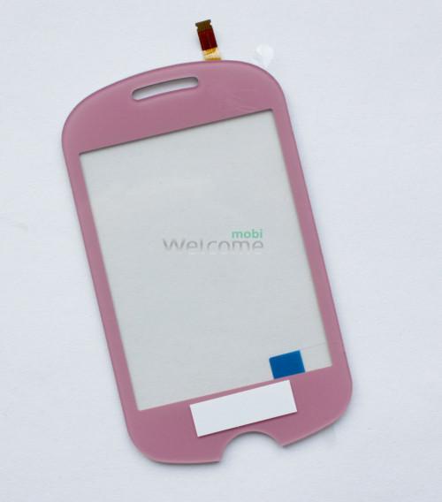 Сенсор Samsung C3510 pink orig