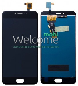 LCD Meizu M3S with touchscreen black orig (FPC-5011-REV.2)