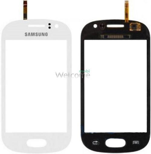 Сенсор Samsung S6810 white orig