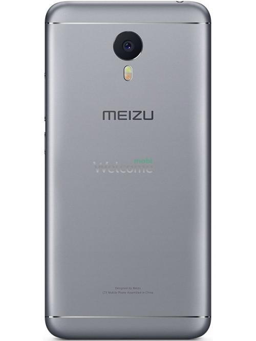 Задняя крышка Meizu M3 Note grey  orig