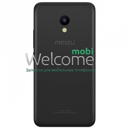 Задняя крышка Meizu M5 black orig