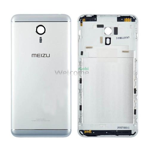 Задняя крышка Meizu M3 Note silver orig (M681h)