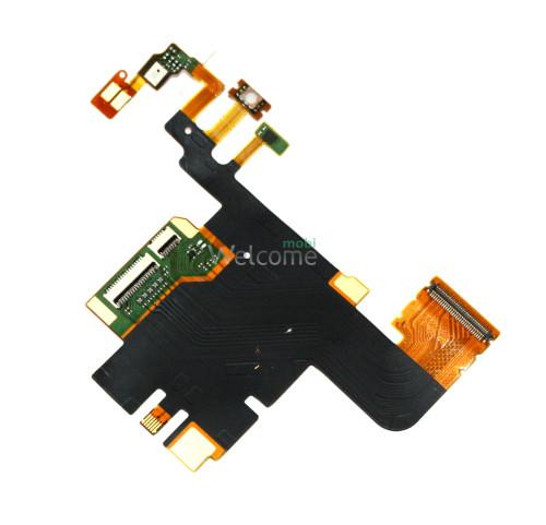 Шлейф Sony LT28h Xperia Ion  microphone board  flex orig