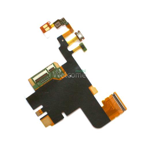 Шлейф Sony LT28h Xperia Ion big flex orig