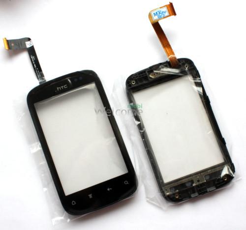 Сенсор HTC A310e Explorer with frame orig (TEST)