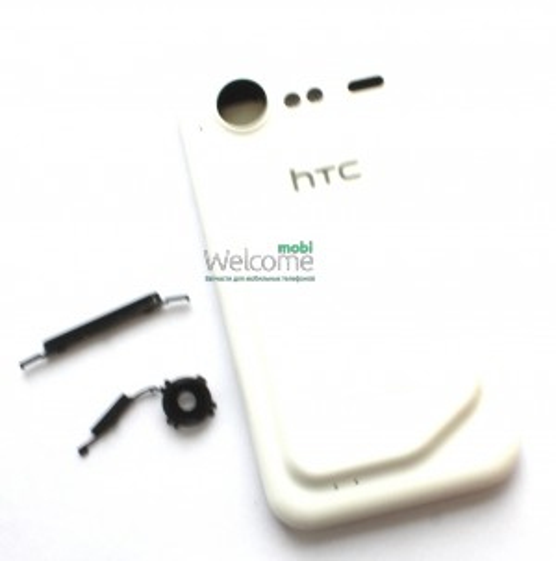 Корпус HTC G11, S710e Incredible S, white orig предняя+задняя панель+средняя часть