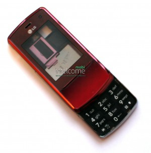 Корпус LG KF510, red high copy полный комплект