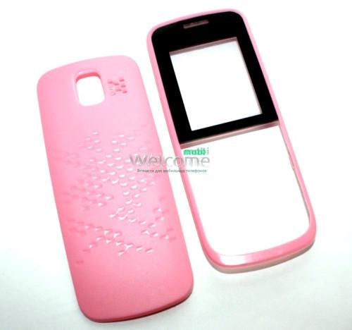 Корпус Nokia 110 Asha pink high copy