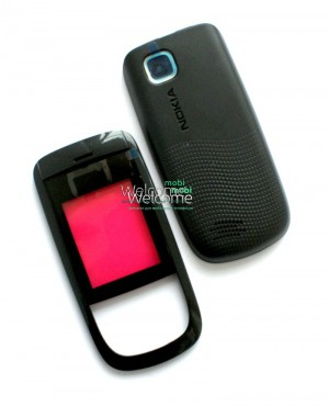 Корпус Nokia 2220s  black high copy