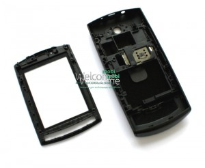 Корпус Nokia 303 Asha black high copy полный комплект