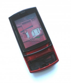 Корпус Nokia 303 Asha red high copy