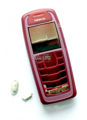 Корпус Nokia 3100  red high copy полный комплект