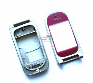 Корпус Nokia 7020 red  high copy