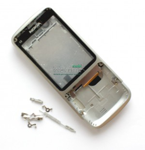 Корпус Nokia C3-01 silver high copy полный комплект