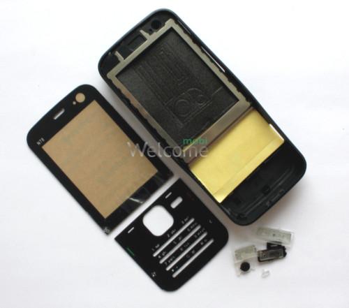 Корпус Nokia N78 black high copy полный комплект