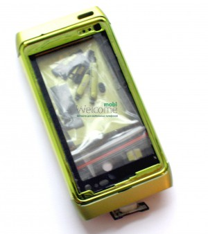 Корпус Nokia N8-00 green high copy полный комплект
