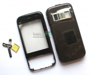 Корпус Nokia N85 brown high copy полный комплект
