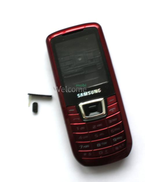 Корпус Samsung C3212 red high copy полный комплект