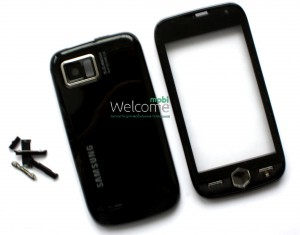 The case Samsung i8000 black high copy a complete set