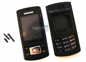 Корпус Samsung S3500 black high copy  полный комплект