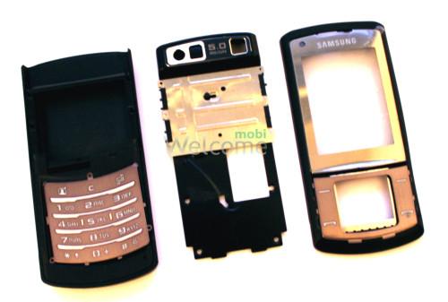 Корпус Samsung U900 black high copy полный комплект