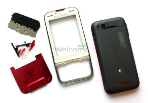 Корпус Sony Ericsson U100 white high copy полный комплект