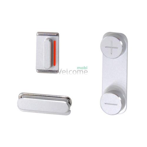 iPhone5S volume key+power key+mute key gray orig