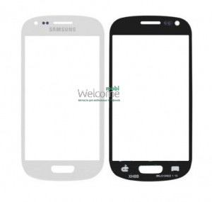 Стекло корпуса Samsung I8190 Galaxy S3 mini white orig