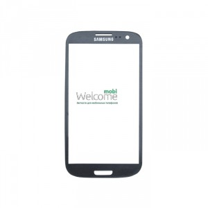 Стекло корпуса Samsung I9300 Galaxy S3 grey high copy