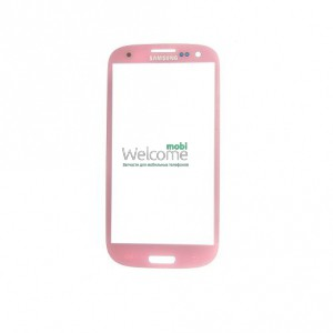 Стекло корпуса Samsung I9300 Galaxy S3 pink high copy