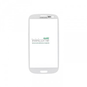 Стекло корпуса Samsung I9300 Galaxy S3 white high copy