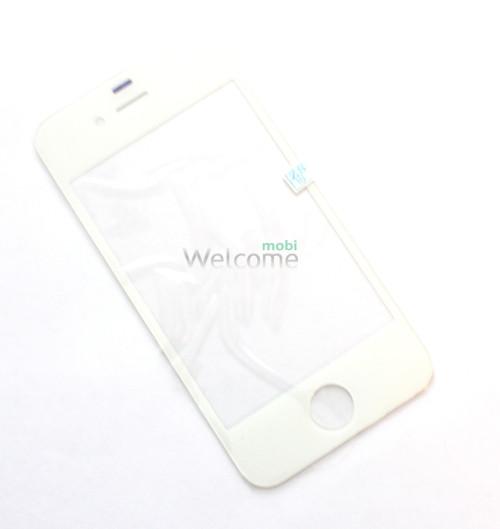 Iphone4G,4S стекло white orig