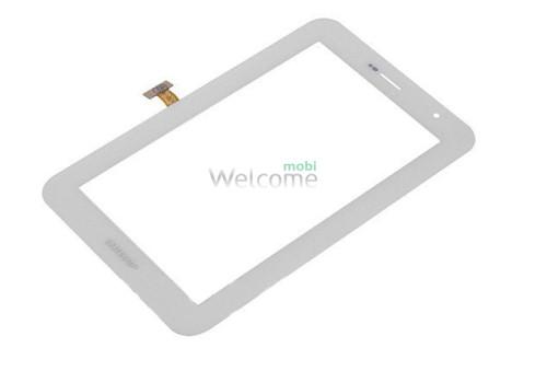 Сенсор к планшету Samsung P6200 Galaxy Tab Plus white orig