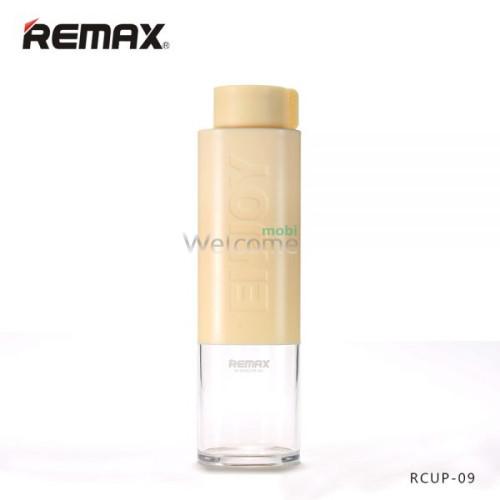 Бутылка Remax Happy RCUP-09 Yellow пластик