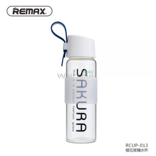 Бутылка Remax Sakura RCUP-013 Blue стекло