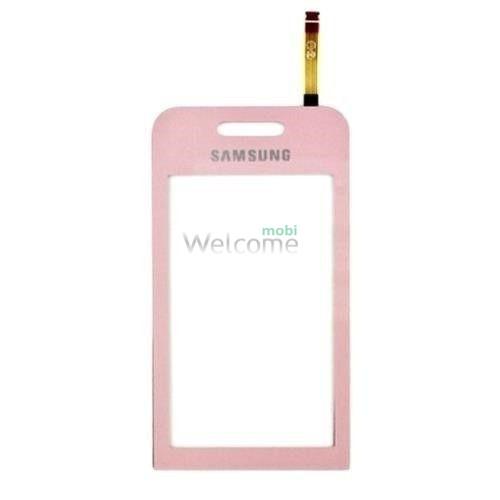 Сенсор Samsung S5230 pink orig