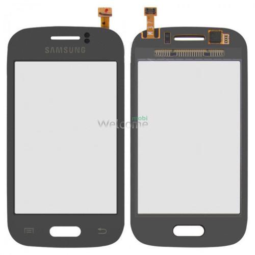 Сенсор Samsung S6310,S6312 black orig