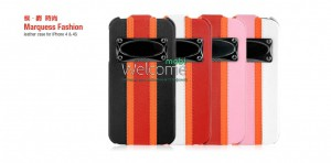 Чехол HOCO HI-L002 Marquess fashion leather case for iPhone 4 (разные цвета)