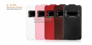 Чехол HOCO HI-L003 Marquess Classic leather case for iPhone 4 (разные цвета)