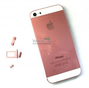 Iphone5 back cover pink orig