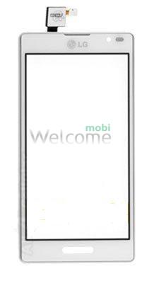 Сенсор LG P760 Optimus L9,P765 Optimus L9,P768 white with frame orig