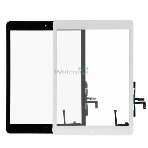 ipad Air touchscreen+button+flex+home white high copy